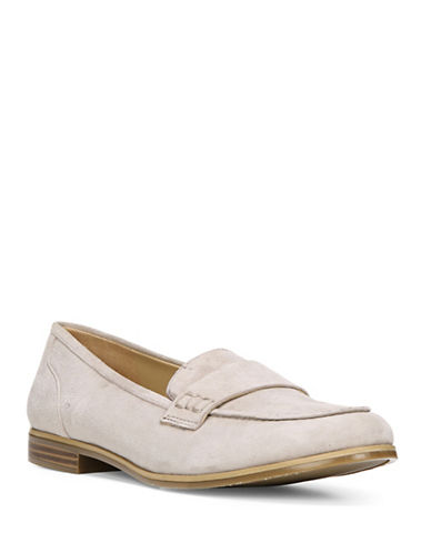Naturalizer Veronica N5 Contour Tailored Moc Loafers-GREY-6W