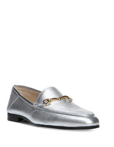Sam Edelman Loraine Loafers-SILVER-9.5