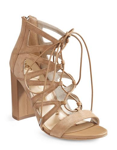 Sam Edelman Yona Suede Sandals-BROWN-6.5