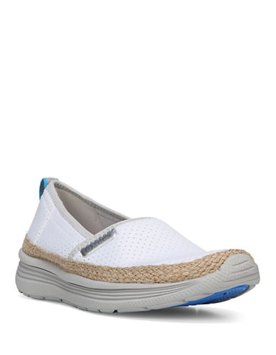 Bzees By Naturalizer Wander Slip-On Water Shoes-WHITE-9.5