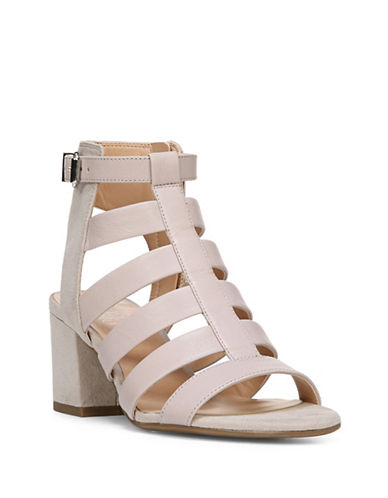 Franco Sarto Mesa City Leather Sandals-BEIGE-9