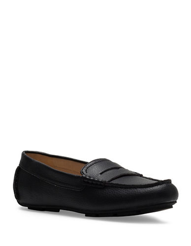 Circus By Sam Edelman Fayette Nappa Leather Loafers-BLACK-6.5
