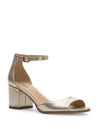 Sam Edelman Susie Metallic Sandals-METALLIC-5.5