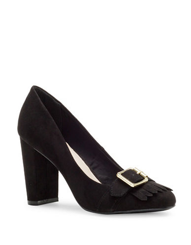Fergalicious Kilted Pumps-BLACK-6.5