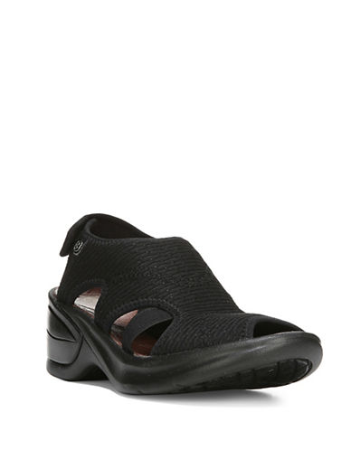 Bzees By Naturalizer Kiss Sport Casual Sandals-BLACK-9