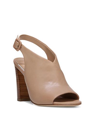 Diane Von Furstenberg Carini Leather Slingback Sandals-PINK-6