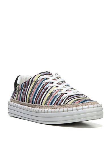 Sam Edelman Striped Sneakers-IVORY MULTI-8