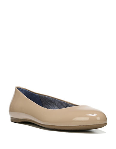 Dr. Scholls Giorgie Ballet Flats-BEIGE-7.5