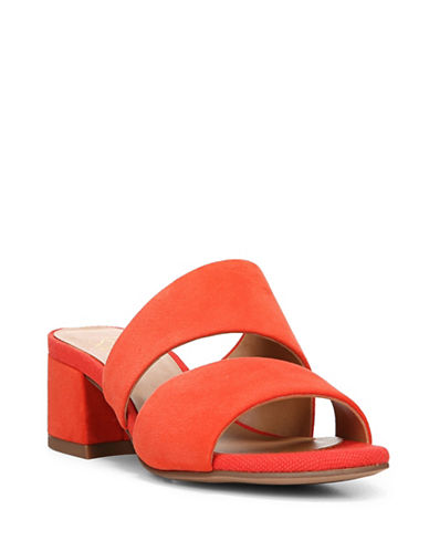 Franco Sarto Tallen Two-Band Slides-ORANGE-6