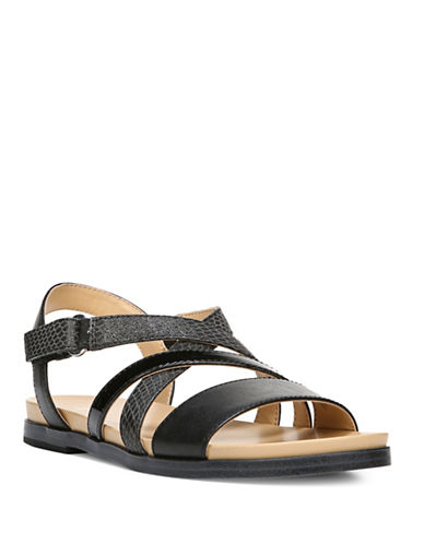 Naturalizer Kandy Flat Sandals-BLACK-7