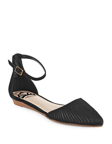 Fergalicious Ankle Strap Flats-BLACK-7