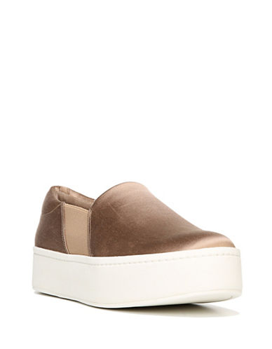 Vince Warren Slide-On Platform Sneakers-BEIGE-7.5