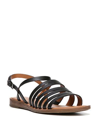 Franco Sarto Gabringa Flat Sandals-BLACK-8