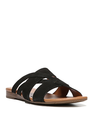 Franco Sarto Gweniver Flat Sandals-BLACK-5.5