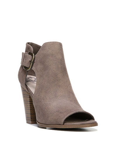 Fergalicious Revenge Open Toe Sandals-GREY-6.5