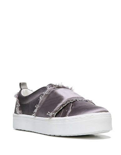 Sam Edelman Levine Satin Strap Sneakers-GREY-7.5