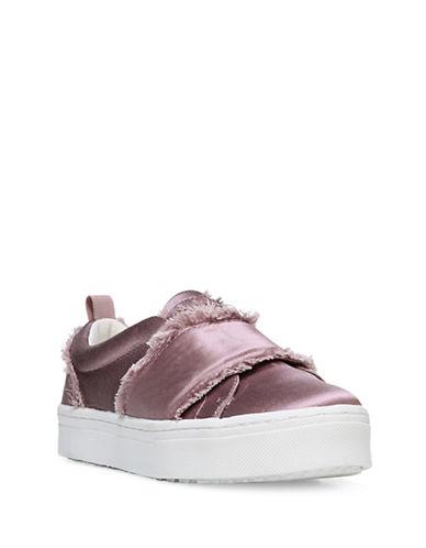 Sam Edelman Levine Satin Strap Sneakers-PINK-7.5