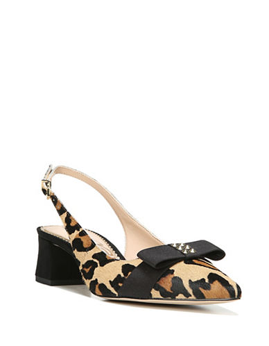 Sam Edelman Leopard Print Block Heel Pumps-LEOPARD-9
