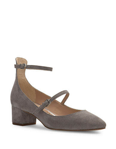 Sam Edelman Lulie Suede Pumps-GREY-9.5