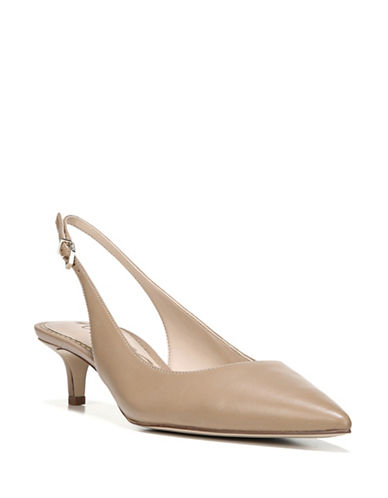 Sam Edelman Ludlow Leather Slingback Pumps-CARAMEL-7.5