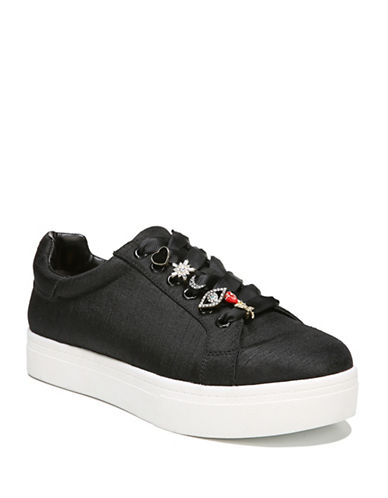 Circus By Sam Edelman Shania Low Top Sneakers-BLACK-5.5