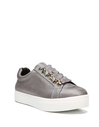 Circus By Sam Edelman Shania Low Top Sneakers-GREY-8.5