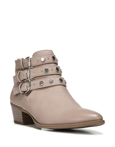 Circus By Sam Edelman Henna Block Heel Booties-TAUPE ROSE-8