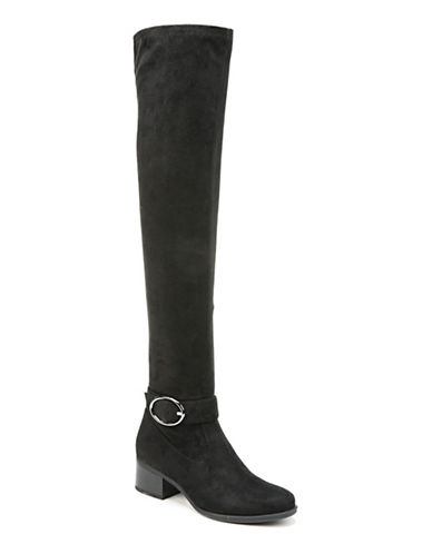 Naturalizer Dalyn Block Heel Over-the-Knee Boots-BLACK-7.5