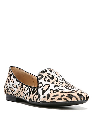 Naturalizer Emiline 2 Printed Calf Hair Loafers-CHEETAH PRINT-7