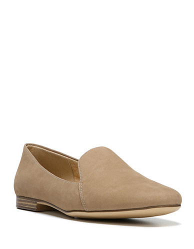Naturalizer Emiline Leather Loafers-OATMEAL-7