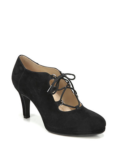 Naturalizer Macie Suede Shooties-BLACK SUEDE-6