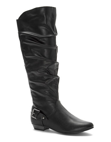 Fergalicious Lucy Knee-High Boots-BLACK-8