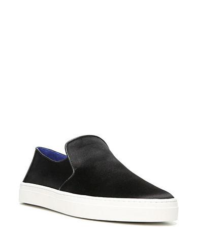 Diane Von Furstenberg Budapest Satin Sneakers-BLACK-9