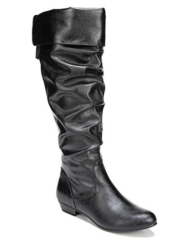 Fergalicious Rookie Knee-High Boots-BLACK-8.5
