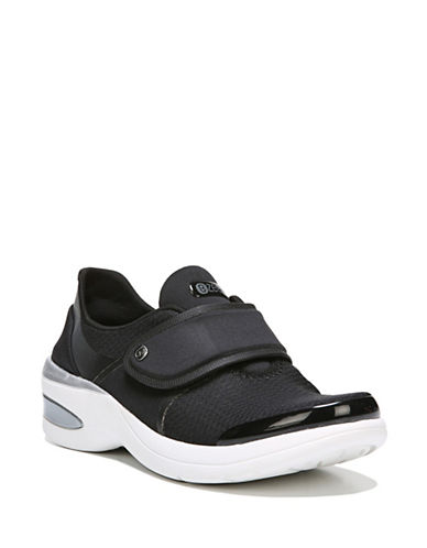 Bzees By Naturalizer Sporty Grip-Tape Sneakers-BLACK-8.5