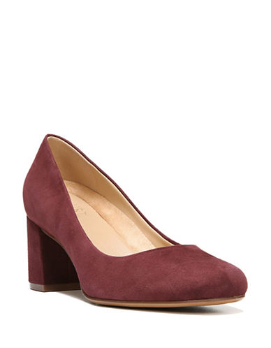 Naturalizer Whitney Suede Dress Pumps-BORDEAUX-11
