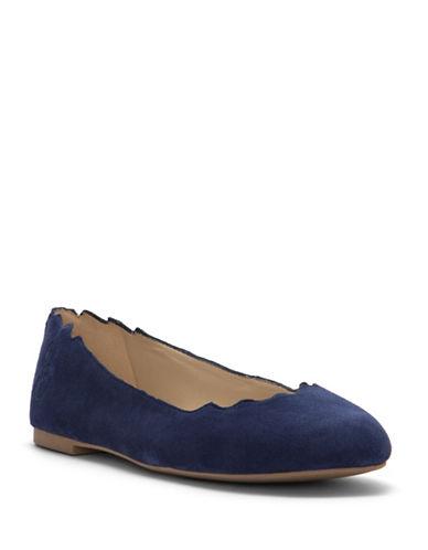 Sam Edelman Finnegan Suede Ballet Flats-BLUE-5