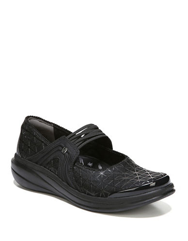 Bzees By Naturalizer Round Toe Comfort Shoes-BLACK-9.5