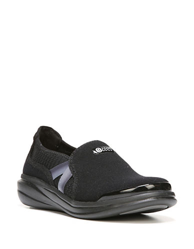 Bzees By Naturalizer Sporty Slip-On Sneakers-BLACK-8.5