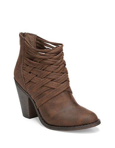 Fergalicious Whisper Cowgirl Booties-COGNAC-9.5