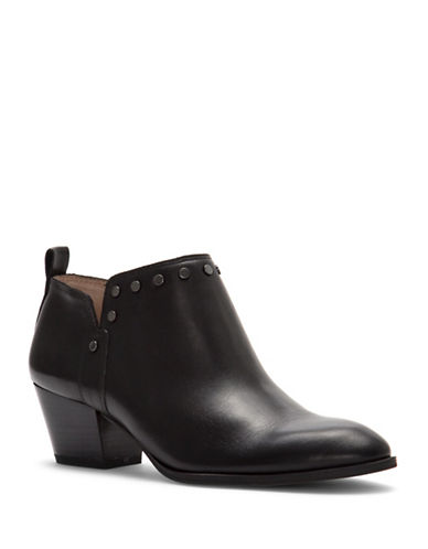 Franco Sarto Geneva Booties-BLACK-8.5