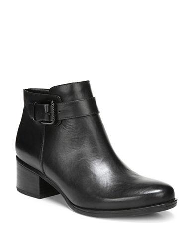 Naturalizer Dora Leather Boots-BLACK-7.5