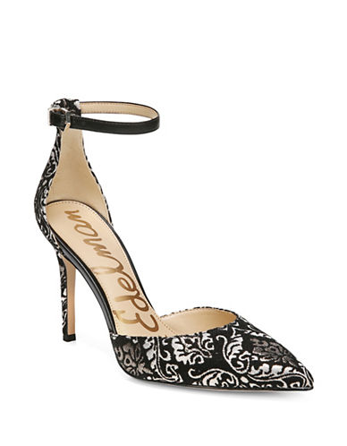 Sam Edelman Harlow Brocade Pumps-BLACK-7.5