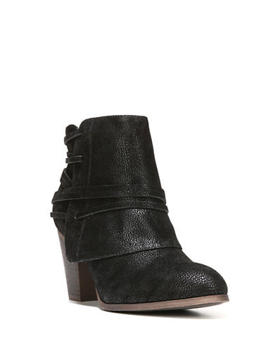 Fergalicious Canyon Cuff Booties-BLACK-9.5