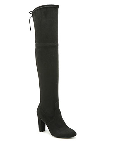 Fergalicious Gladice Over-the-Knee Boots-BLACK-7.5