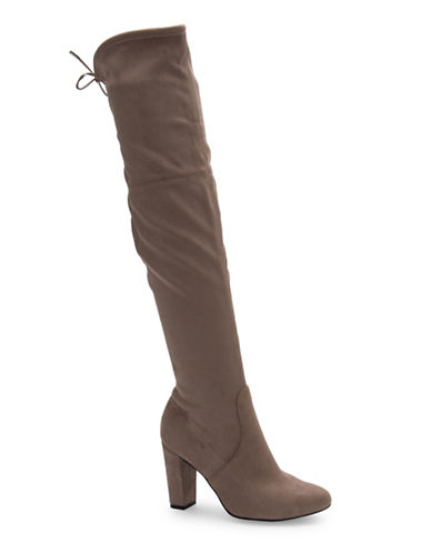 Fergalicious Gladice Over-the-Knee Boots-TAUPE-11