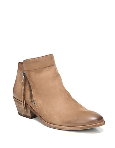 Sam Edelman Leather Western Boot-SADDLE-8.5