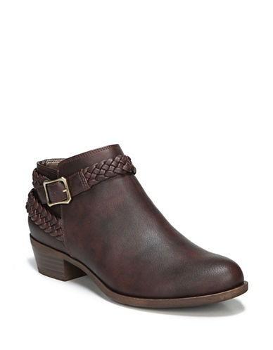 Lifestride Adrianna Booties-BROWN-7.5