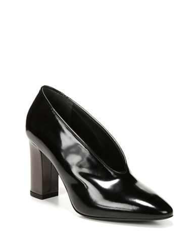 Donald J. Pliner Baran Leather Pumps-BLACK-9