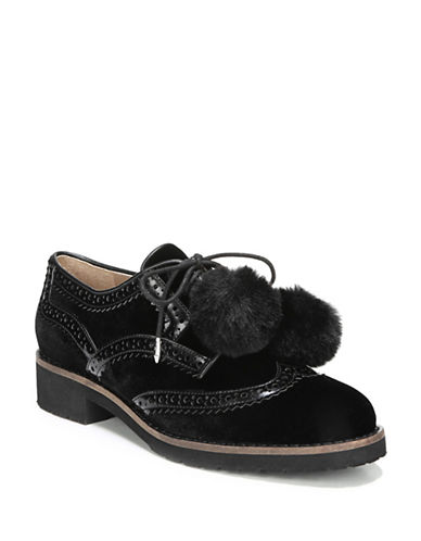 Sam Edelman Dahl Leather Derbys-BLACK-9.5